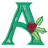 Holly Alpha Applique