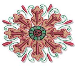 Indienne Swirls 5x7 13