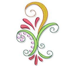 Indienne Swirls 5x7 20