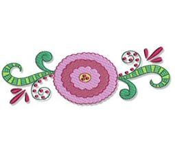 Indienne Swirls 5x7 7