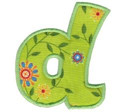 Kids Alpha Applique d