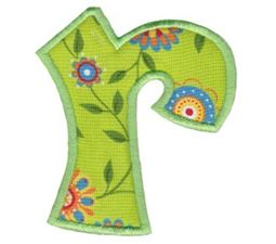 Kids Alpha Applique r
