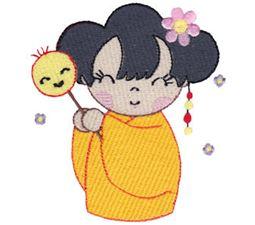 Kokeshi Dolls 12