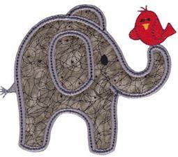 Little Elephant Applique 1