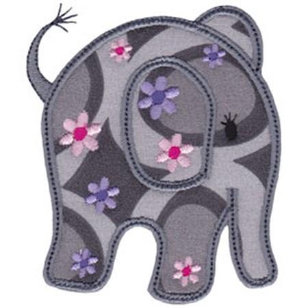 Little Elephant Applique 11