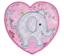 Little Elephant Applique 14