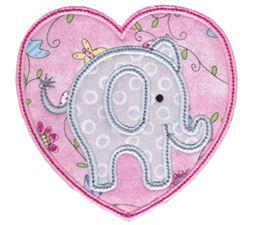 Little Elephant Applique 14