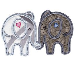 Little Elephant Applique 15