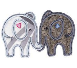 Little Elephant Applique 15