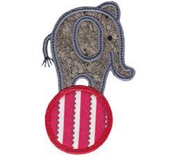 Little Elephant Applique 20
