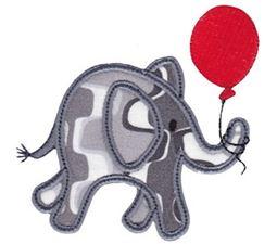 Little Elephant Applique 3