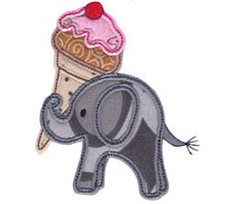 Little Elephant Applique 9