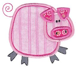 Little Farm Stitchies Applique 4