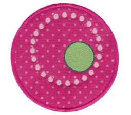 Lots Of Dots Applique 20