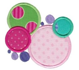 Lots Of Dots Applique 3