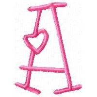 Lots Of Love Alphabet