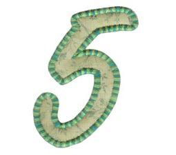 Lovely Applique Alphabet 5