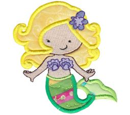Magical Mermaids Applique 3
