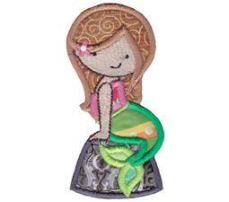 Magical Mermaids Applique 4