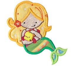 Magical Mermaids Applique 8