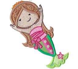 Magical Mermaids Applique 9