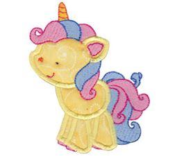 Magical Unicorns Applique 3
