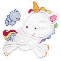 Magical Unicorns Applique