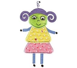Missy Monster Applique 8