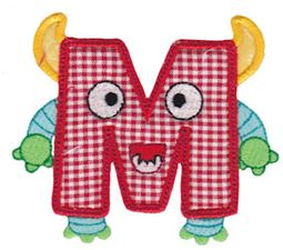 Monster Mash Alpha Applique 13