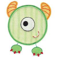 Monster Mash Numbers Applique