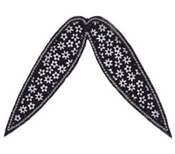 Moustache Applique 15
