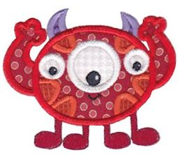 My Monster Applique 11