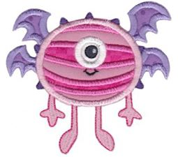 My Monster Applique 13