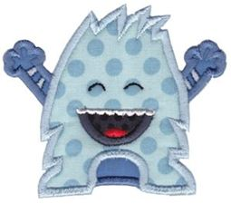 My Monster Applique 3