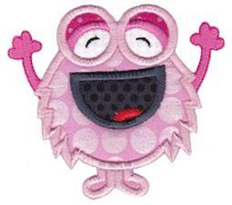 My Monster Applique 5