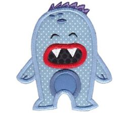 My Monster Applique 6