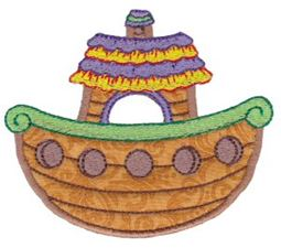 Noahs Ark Applique 1