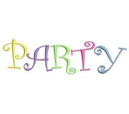 Party Time Applique 14