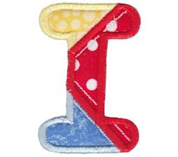 Patches Alphabet Applique I