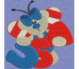 Patriotic Butterfly Bears 2