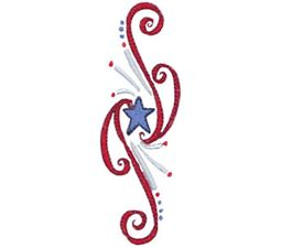 Patriotic Swirls 14