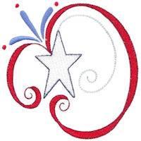 Patriotic Swirls