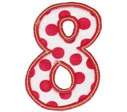 Patty Cake Alpha Applique Number 8