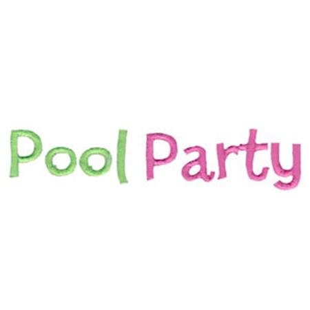 Pool Party Applique 14