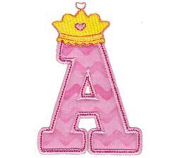 Princess Alpha Applique A