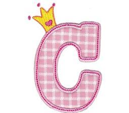 Princess Alpha Applique C