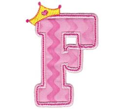 Princess Alpha Applique F