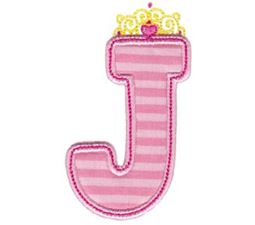 Princess Alpha Applique J