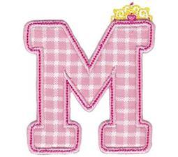Princess Alpha Applique M