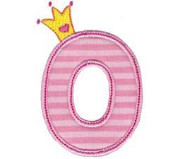Princess Alpha Applique O